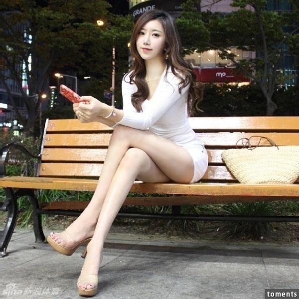 韓國健身美女教練完美身材爆紅
