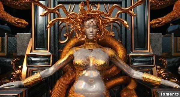 蔡依林獻出出道以來最大尺度!以身體赤裸演繹蛇妖「美杜莎」,影片公開身材超完美!