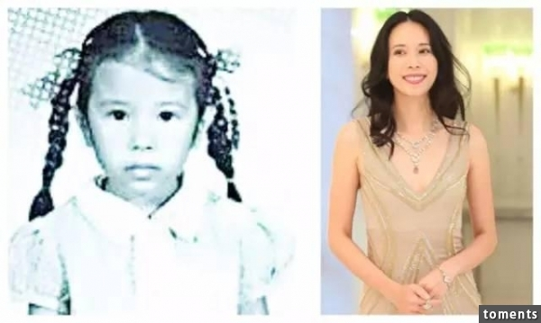 明星小时候与长大后照片对比!